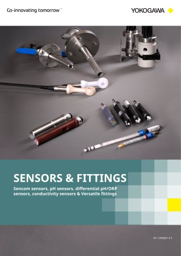 Liquid Analyzer Sensors and Fittings