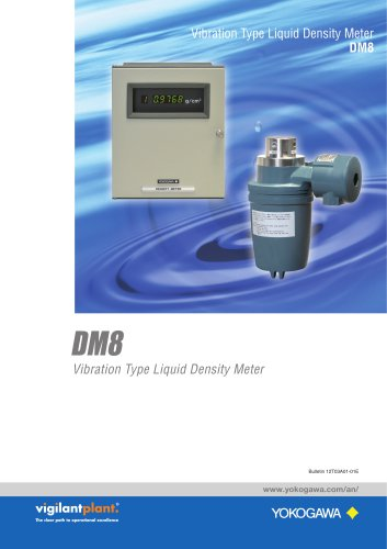 Model DM8 Vibration Type Liquid Density Meter