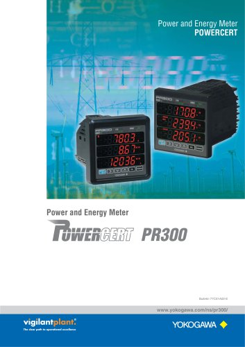 PR300 Power and Energy Meter