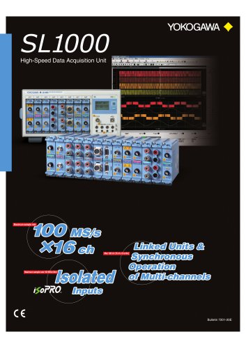 SL1000 High-Speed Data Acquisition Unit