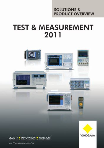 TEST & mEASUREmENT 2011