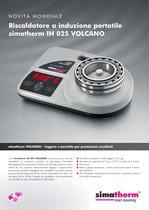 Riscaldatore a induzione portatile - simatherm IH 025 VOLCANO