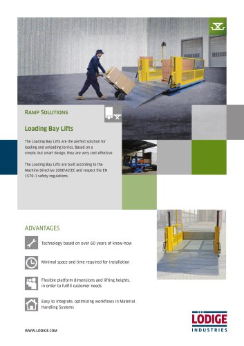 Loading Bay Lifts Flyer