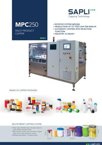 MPC250 Rotative Press On Capper