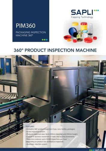 PACKAGING INSPECTION MACHINE 360º