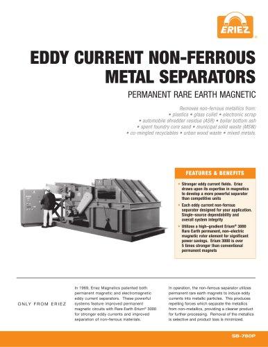EDDY CURRENT NON-FERROUS METAL SEPARATORS