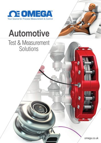 Automotive test and measurement solutions