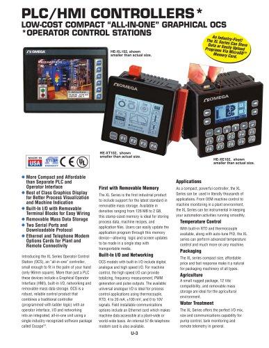 PLC/HMI CONTROLLERS