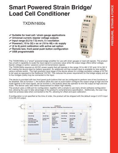 TXDIN1600s