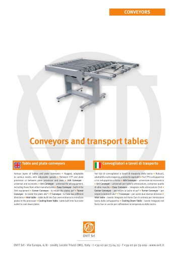 Conveyor for offset plates