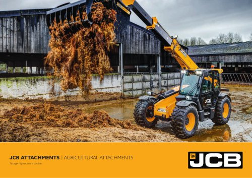 Agri Range Attachments Brochure