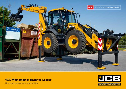 Backhoe loaders: 4CX Wastemaster