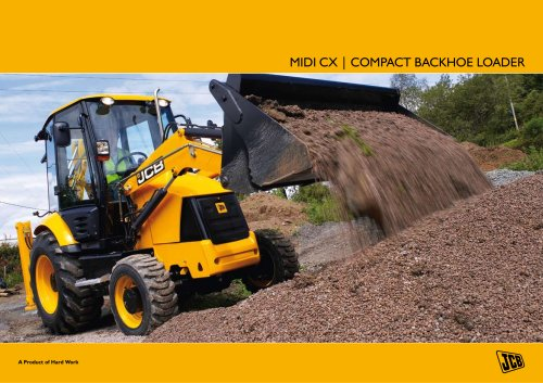 MIDI CX | COMPACT BACKHOE LOADER