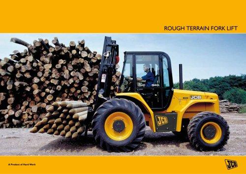 Rough Terrain Fork Lift Brochure
