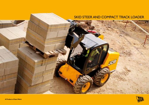 Skid steer and compact track loader brochure