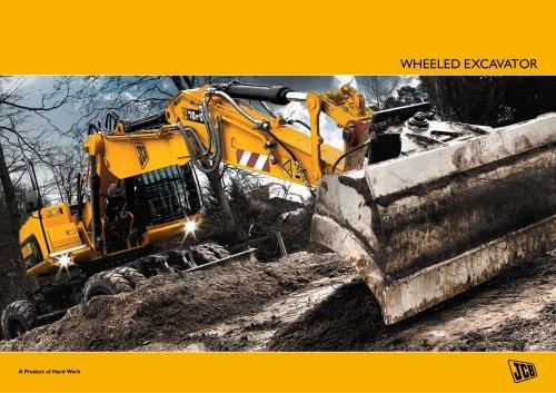 Wheeled Excavator Brochure