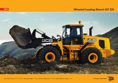 Wheeled Loading Shovel 457 ZX