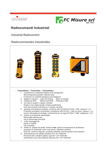 Industrial Remote Controls