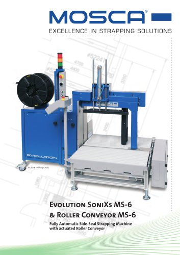 Evolution SoniXs MS-6 mit Rollenförderer MS-6 Pro