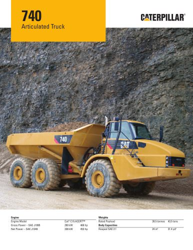 740 Articulated Truck
