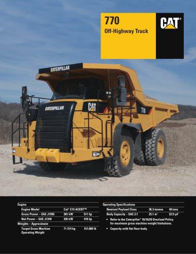 770 Off-Highway Truck