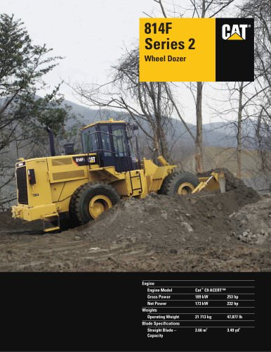 814F Series 2 Wheel Dozer