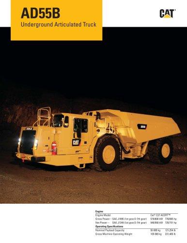 AD55B Underground Articulated Truck