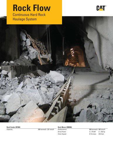 Rock Flow Continuous Hard Rock Haulage System