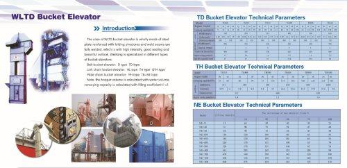 Weiliang WLTD vertical conveyor  feeder for powder, granules, solids