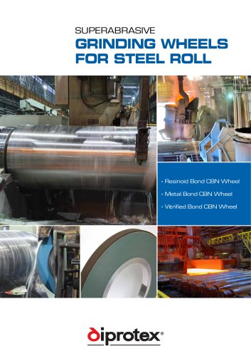 CBN & Diamond Rolls Grinding wheels