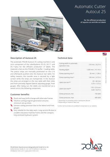 Automatic Cutter Autocut 25