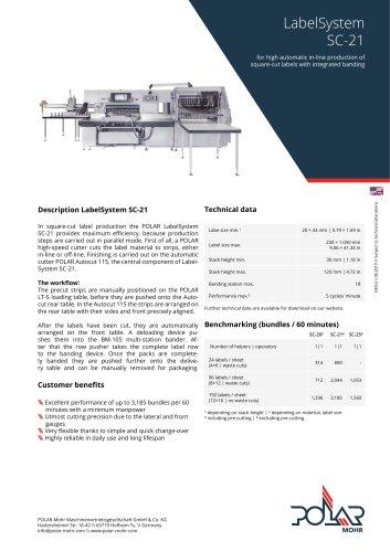 LabelSystem SC-21