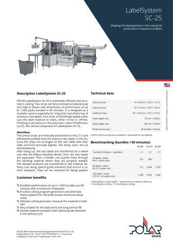 LabelSystem SC-25