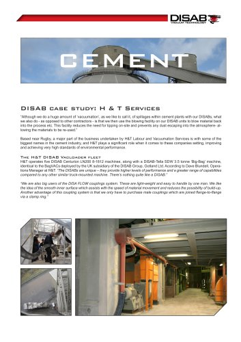 CEMENT CASE STORY