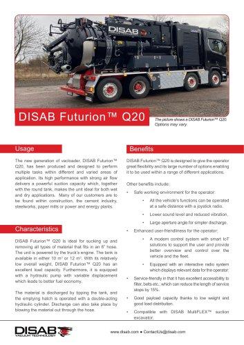 DISAB Futurion™ Q20