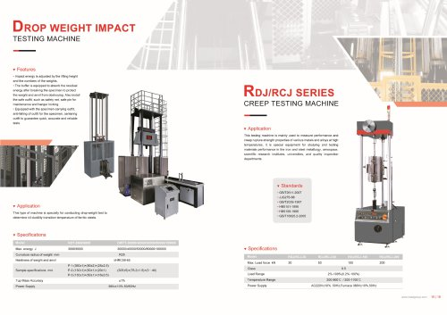 HST Drop Weight Impact Testing Mahince NDT-3000-6000