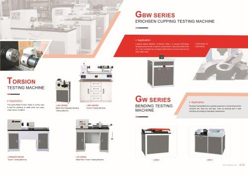 HST GBW Series Erichsen Cupping Testing Machine