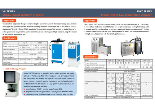 JINAN HENSGRAND Charpy Impact Specimen Broacher and Impact Testing Low Temperature Chamber