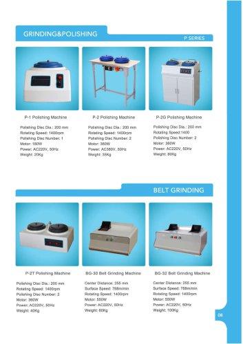 JINAN HENSGRAND Metallographic Specimen Grinding and Polishing Machine