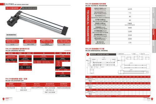 Double Rail Good Accuracy Linear Actuator