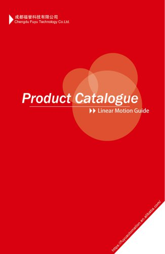 Product Catalogue - Linear Motion Guide
