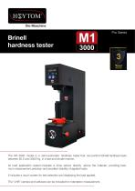 MODEL Brinell M1 3000 HOYTOM® PRO Series