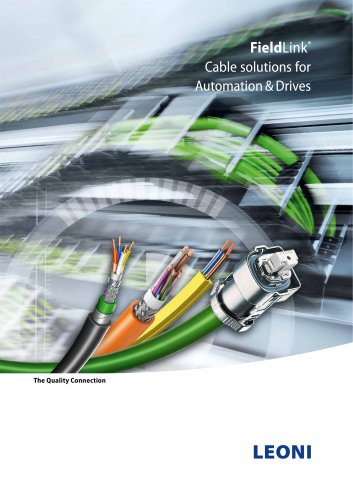 Cable solutions for Automation & Drives