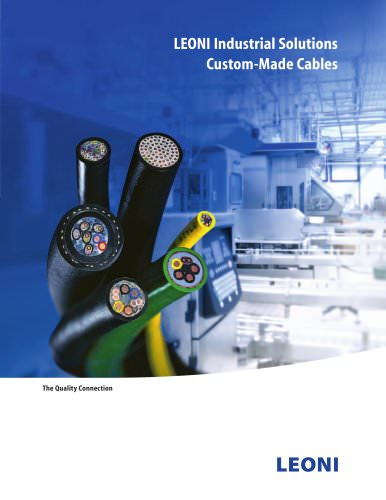 Cable Solutions for Industrial Applications