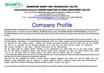 WAMIT waterjet company profile