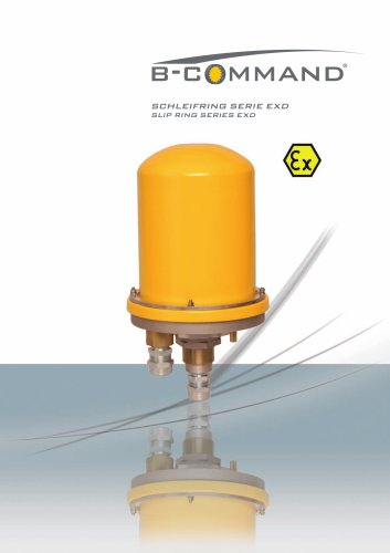 ATEX-Slip Ring Series EXD B-COMMAND