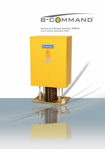 Slip Ring Series PRM B-COMMAND