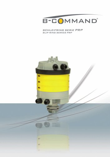 Slip Ring Series PRP B-COMMAND