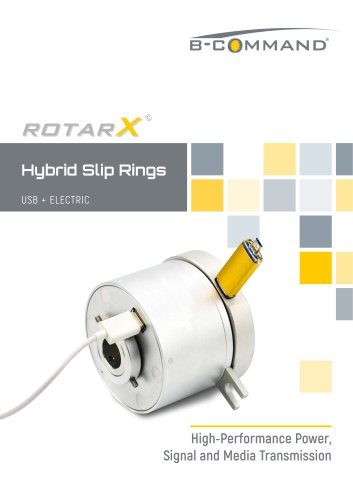 USB Slip Rings rotarX by B-COMMAND