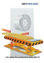 Lift tables for production lines MH-P